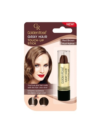 Golden Rose Grey Hair (Red Brown) No:04 Renkli